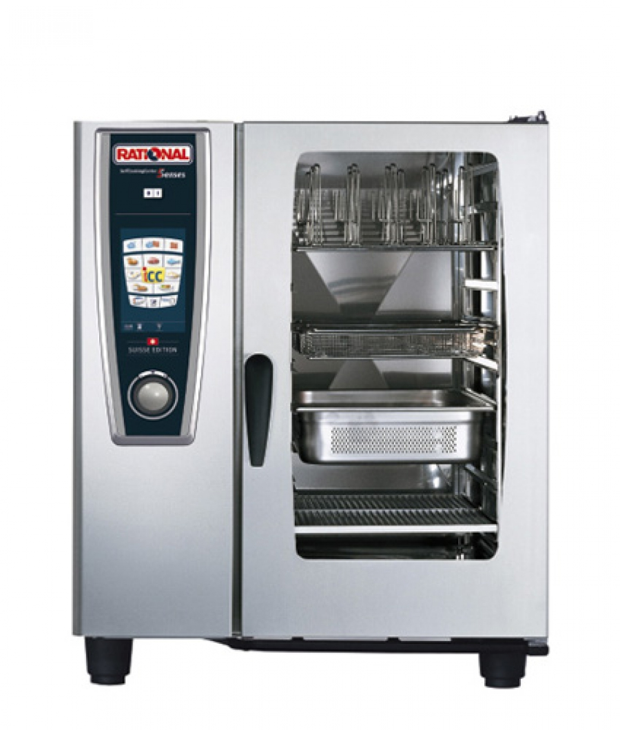 Пароконвектомат бойлерный SelfCookingCenter Rational (Германия) 10 GN 1/1 SCC 101 ES